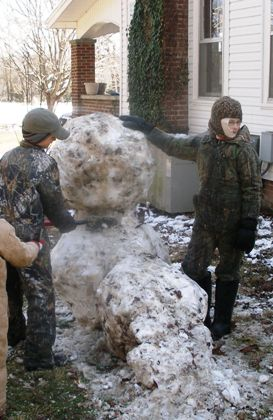 The Country Snowman