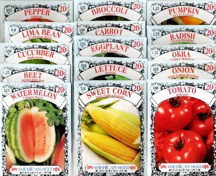 Cheap Heirloom Seeds at $.20 cents a package!!!