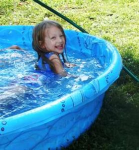 Summer Heat, Swimming and the Milk Cow